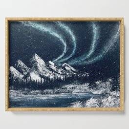 Northern Lights Serving Tray