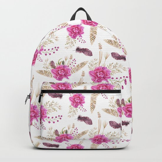 Autumn Forest Floral Backpack