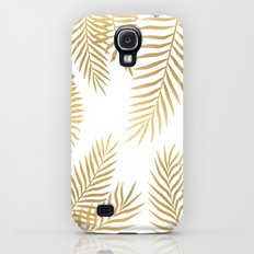 Gold palm leaves Slim Case Galaxy S4