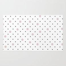 Pin Points Polka Dot Pink Rug