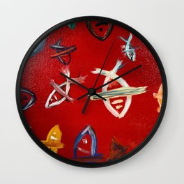 The Red Sea Wall Clock
