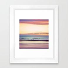 Pastel Horizons Framed Art Print