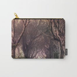 Autumn alley in Northern Ireland Carry-All Pouch