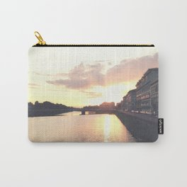 sunset on the Arno Carry-All Pouch