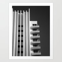 art deco Art Prints featuring Deco by SalAnthony