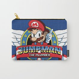 Jumpman the Plumber Carry-All Pouch