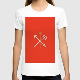 Flag of Saint Petersburg / Санкт-Петербу́рг T-shirt