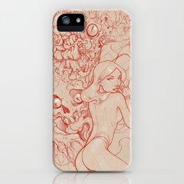 Animal Brain iPhone Case
