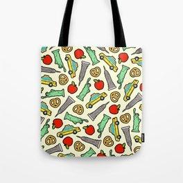 New York, New York Pattern Tote Bag