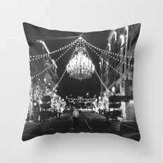 This Is A Classy Town Throw Pillow