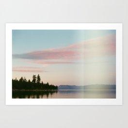 Story Book Sunset Art Print