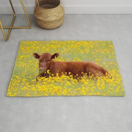 Baby Cow Rug