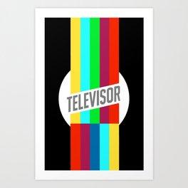 Televisor  Art Print