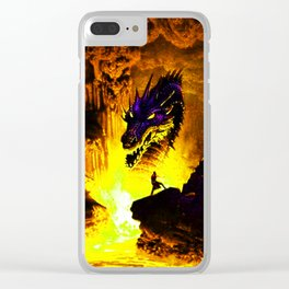 challenging hazards to good causes Clear iPhone Case