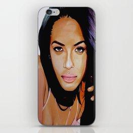 Aaliyah Dana Haughton iPhone Skin
