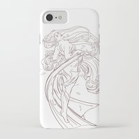 mucha iPhone & iPod Cases featuring Mucha Inspired by Jon Cain