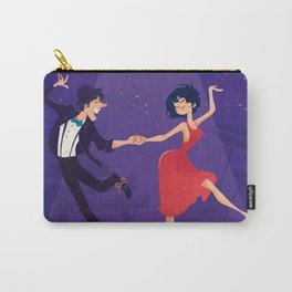 Dancing night couple Carry-All Pouch