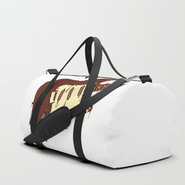 Melting Chocolate Guitar Duffle Bag
