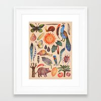 tropical Framed Art Prints featuring Tropical by VLAD stankovic