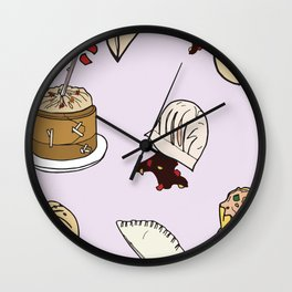 Dumpling Day Wall Clock