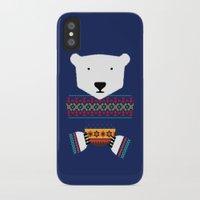 polar bear iPhone & iPod Cases featuring Polar Bear by Marco Recuero
