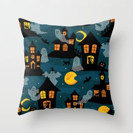 Halloween-1 Throw Pillow