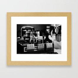 clippers Framed Art Print