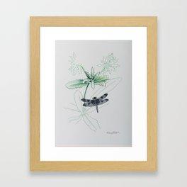 Shado Beni Framed Art Print