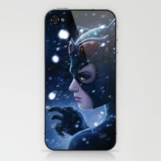 Catwoman Painting iPhone & iPod Skin
