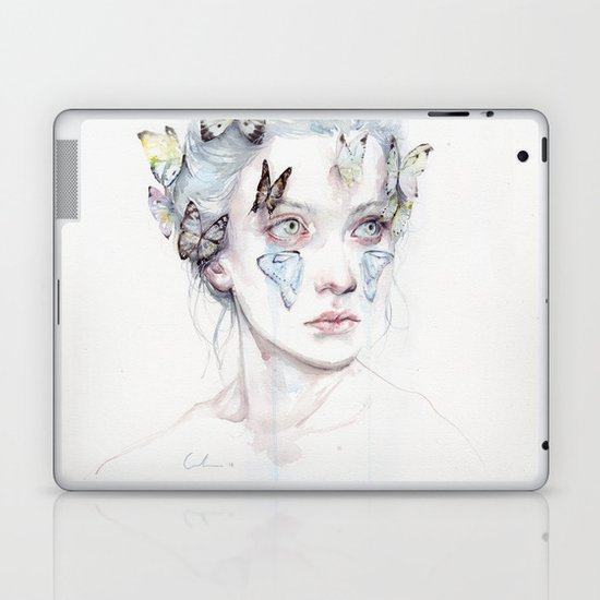love and sacrifice Laptop & iPad Skin