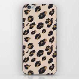 B&B Leopard Design iPhone Skin