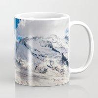 switzerland Mugs featuring Switzerland - Panorama (RR66) by RRphoto.eu | Rafal Rozalski Photography