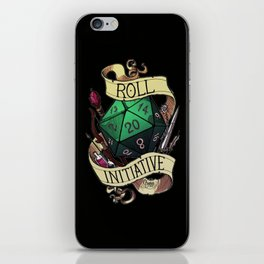 Roll Initiative iPhone Skin