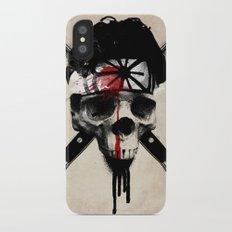 Death to LaRusso iPhone X Slim Case
