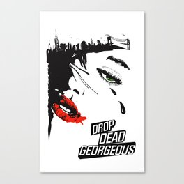 drop dead gorgeous - femme fatale Canvas Print