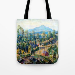 Ernest Lawson New England Birches Tote Bag