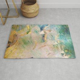 """Henri de Toulouse-Lautrec """"Ballet dancers"""" Rug"""