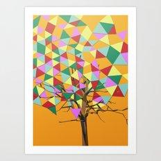 Treeangle Art Print