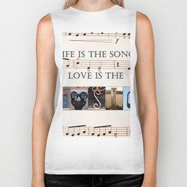 Love of Music Biker Tank