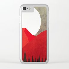vampire mountain Clear iPhone Case