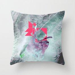 Earth2 Throw Pillow