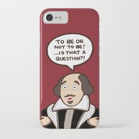 shakespeare iPhone & iPod Cases featuring Shakespeare by evannave
