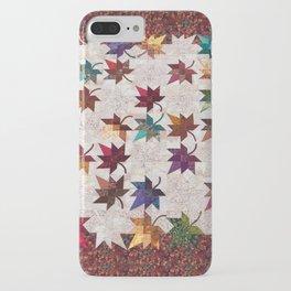 Maple Leaf Quilt iPhone Case