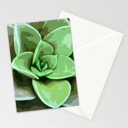 Green Earthly Rescue Stationery Cards