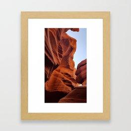 Antelope Canyon  #8 Framed Art Print