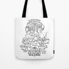 The Best Dog Tote Bag