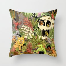 The Jungle Throw Pillow