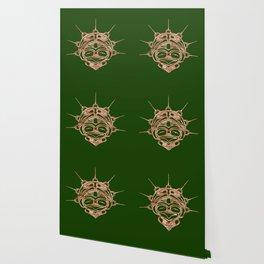 Copper Frog Grass Wallpaper
