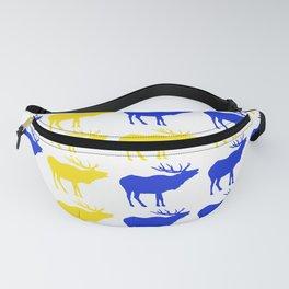 Graphic Swedish Elk Flag I Fanny Pack
