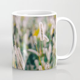 Field of Wild Weeds Morning Glow Coffee Mug